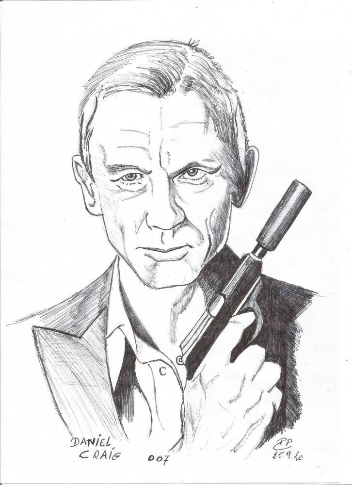 Daniel Craig par Patoux